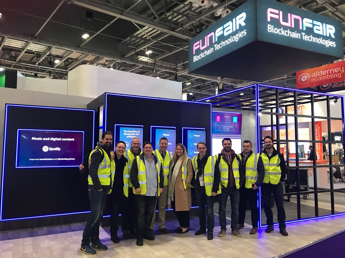 The FunFair team at ICE