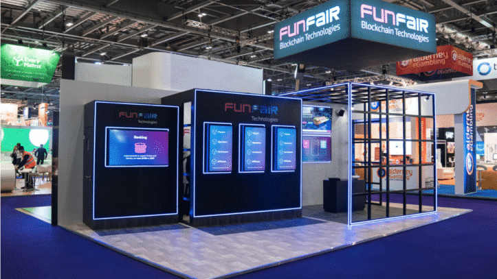 FunFair stand at ICE