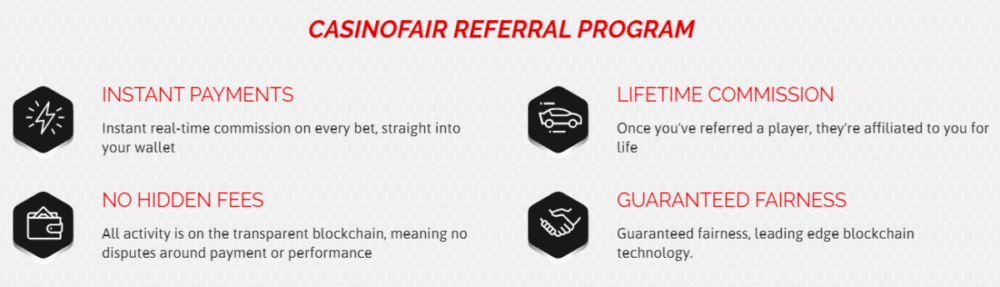 On-chain affiliate program now live - FunFair